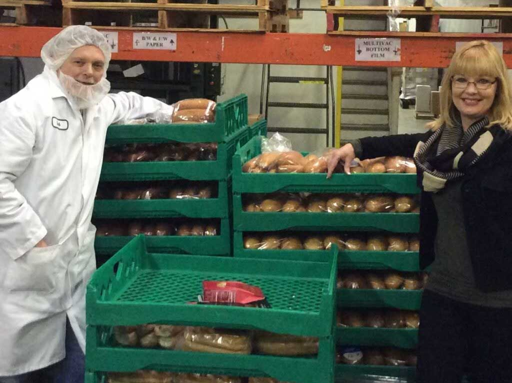 Teresa and employee